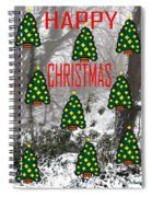 Happy Christmas 22 Spiral Notebook