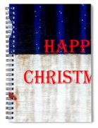 Happy Christmas 28 Spiral Notebook