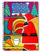 Happy Christmas 30 Spiral Notebook