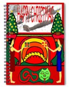 Happy Christmas 13 Spiral Notebook