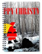 Happy Christmas 60 Spiral Notebook