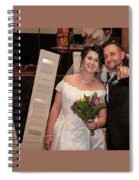 Happy Couple Spiral Notebook