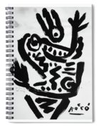 Happy Dance Spiral Notebook