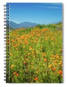 Happy Days In Walker Canyon Spiral Notebook