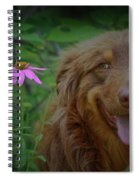 Happy Dog Days Spiral Notebook