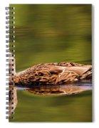 Happy Duck Spiral Notebook