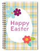 Happy Easter Egg- Art By Linda Woods Spiral Notebook