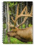 Happy Elk Spiral Notebook