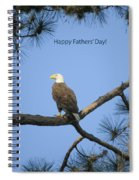 Happy Father's Day Spiral Notebook