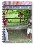 Happy Filipinos Spiral Notebook