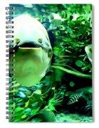 Happy Fish Spiral Notebook