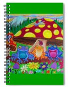 Happy Frog Meadows Spiral Notebook