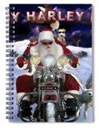 Happy Harley Days Spiral Notebook