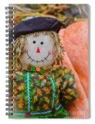 Happy Harvest Time Spiral Notebook