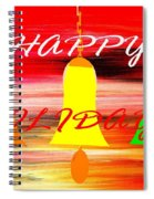 Happy Holidays 11 Spiral Notebook