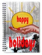 Happy Holidays 26 Spiral Notebook