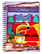 Happy Holidays 43 Spiral Notebook