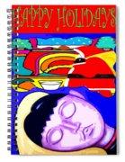 Happy Holidays 67 Spiral Notebook