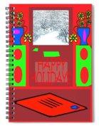 Happy Holidays 98 Spiral Notebook