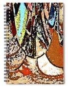 Happy In My Village Spiral Notebook