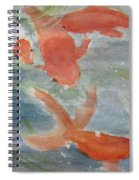 Happy Koi Spiral Notebook