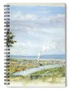 Happy Land Spiral Notebook