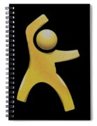 Happy Man Spiral Notebook