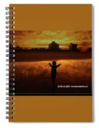 Happy Moment At A Beach Spiral Notebook