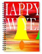 Happy New Year 10 Spiral Notebook