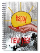 Happy New Year 22 Spiral Notebook