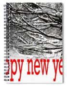 Happy New Year 33 Spiral Notebook