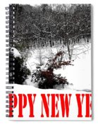 Happy New Year 34 Spiral Notebook