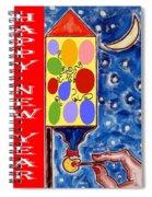 Happy New Year 47 Spiral Notebook