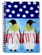 Happy New Year 5 Spiral Notebook