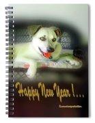 Happy New Year Art 2 Spiral Notebook