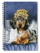 Happy New Year Spiral Notebook