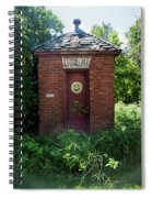Happy Outhouse Spiral Notebook