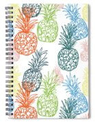 Happy Pineapple- Art By Linda Woods Spiral Notebook