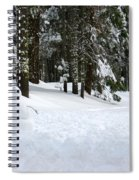 Happy Snowman Spiral Notebook