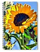 Happy Sunflower Spiral Notebook