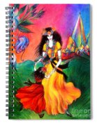 Happy To Dance. Ameynra And Mother-queen Spiral Notebook