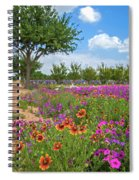 Happy Trail At The Farm Spiral Notebook