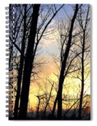 Happy Trails Sunset Spiral Notebook