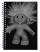 Happy Troll Spiral Notebook