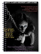 Happy Vlad's Obedient Lady Store Spiral Notebook