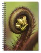 Hapuu Fern Frond Shoot Spiral Notebook