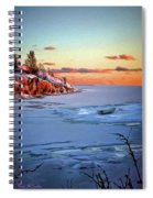Harakka Island Sunset Spiral Notebook