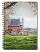 Harbaugh Church In The Spring Spiral Notebook