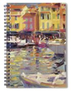 Harbor At Cassis Spiral Notebook