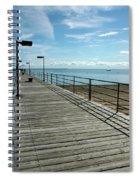 Harbor Beach Lake Huron Michigan Spiral Notebook